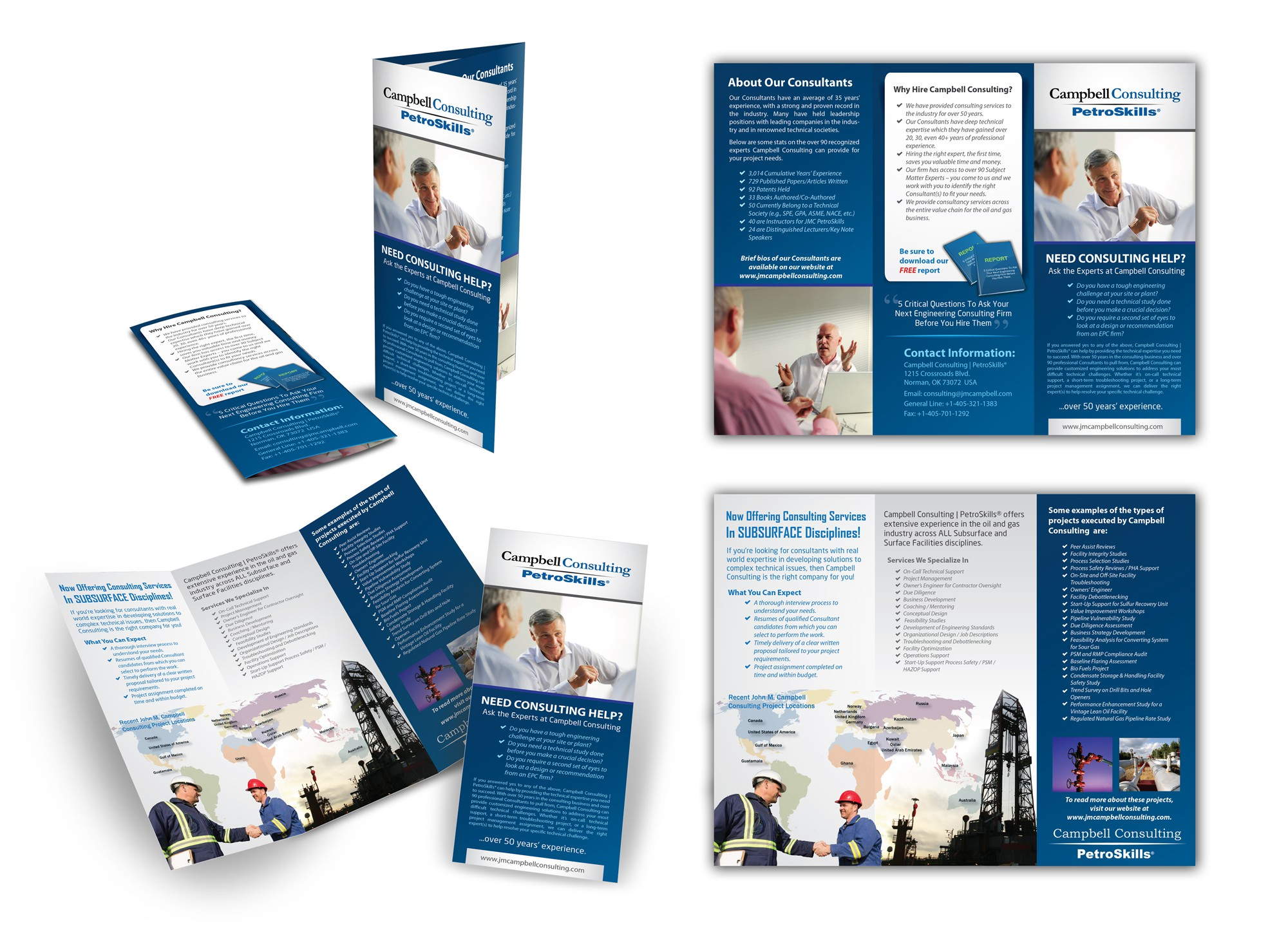 New brochure design wanted for Campbell Consulting - PetroSkills