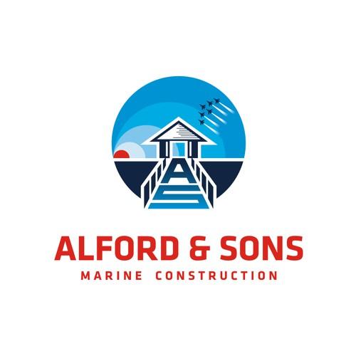 Logo for Shoreline Construction Company