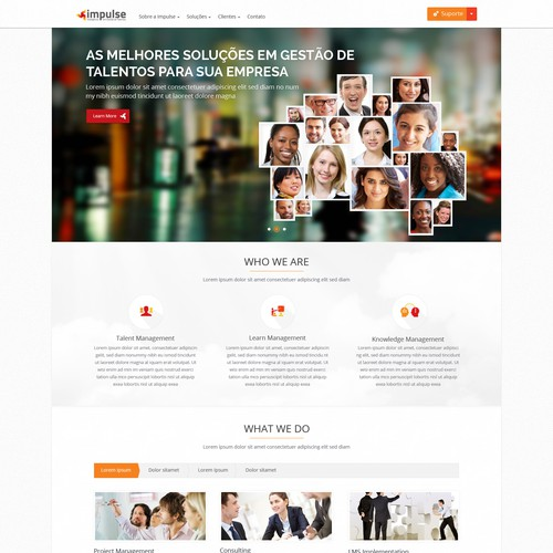 Create Impulse Web Site - Talent Management Solutions Company
