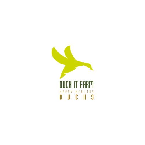 Duck farm logo