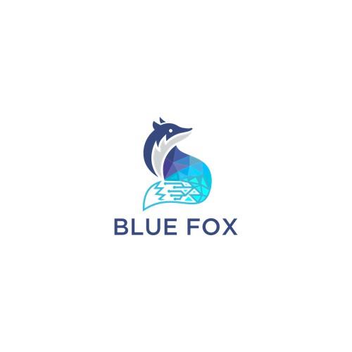 logo fox modern