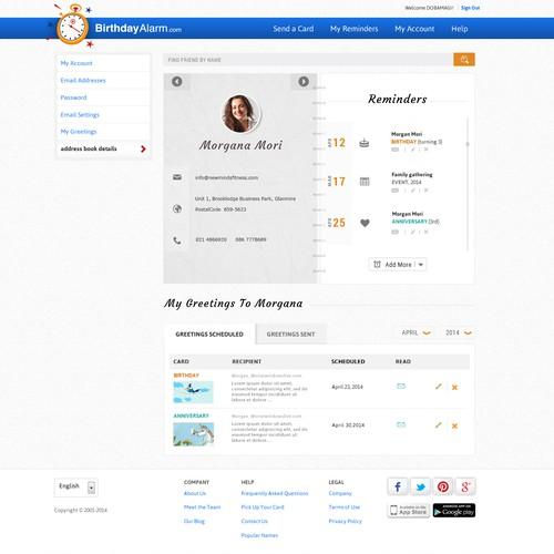 New designer for existing website.