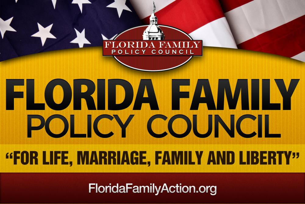 Design for a banner for the Florida Family Policy Council