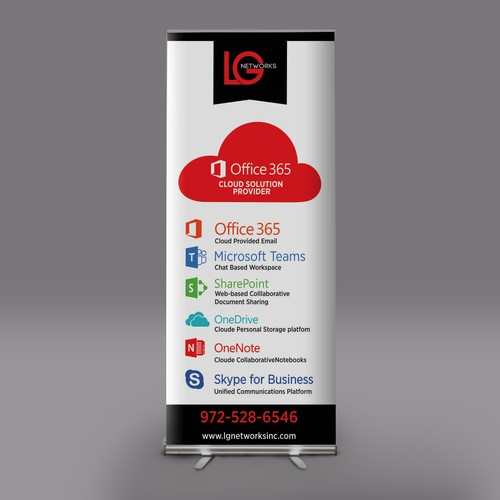 Banner to showcase Office 365 for LG Networks Inc