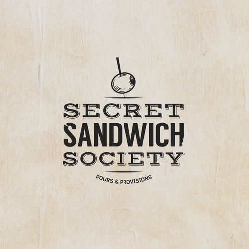 Rebrand our current logo or create a new design for Secret Sandwich Society.