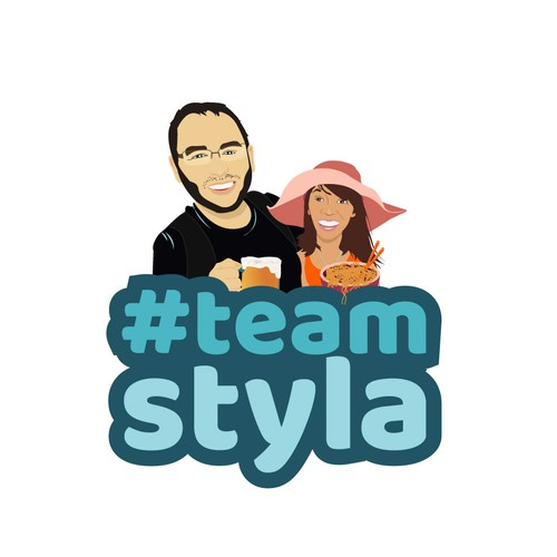 logo for #team styla