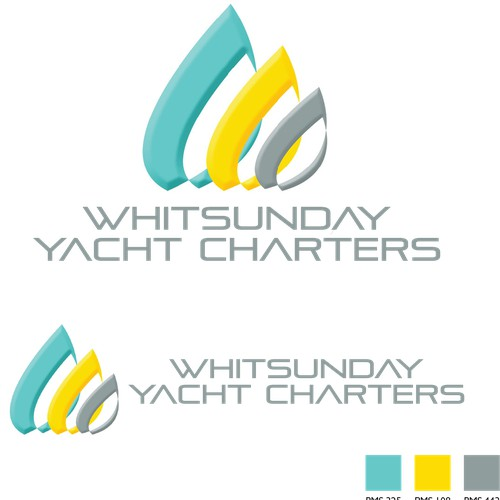 Design a logo for a new charter boat company operating around the Whitsunday Islands, Queensland Aus