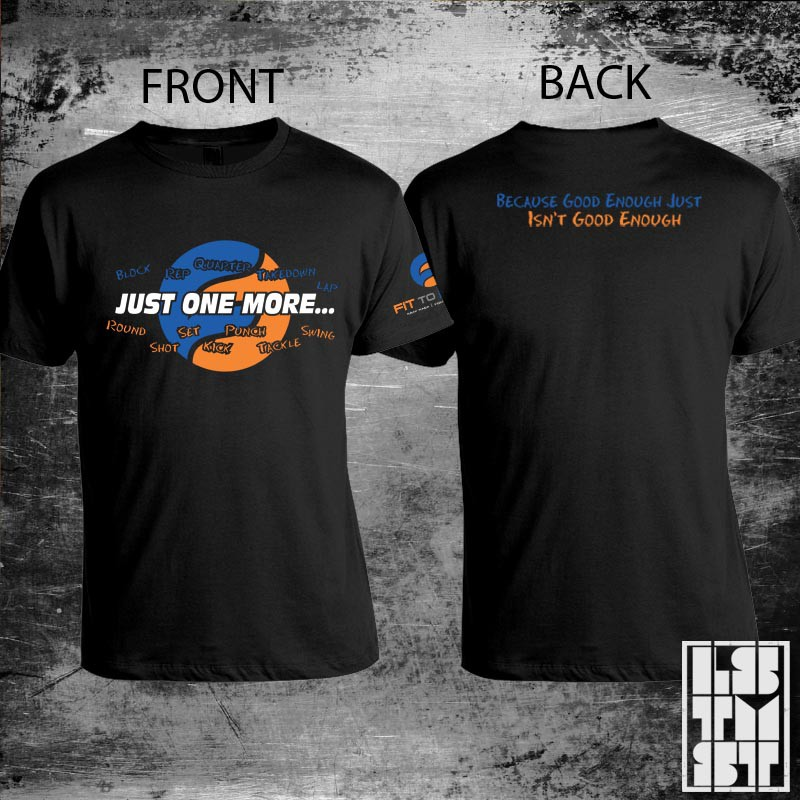 Help Fit to Fight with a new t-shirt design