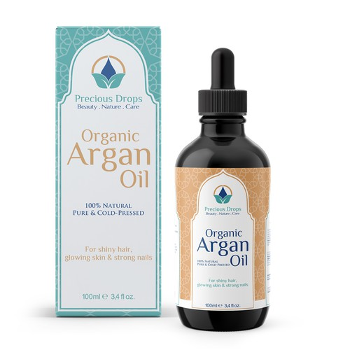 Packaging for High Quality Organic Argan Oil