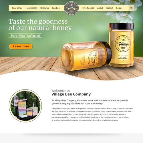 The Village Bees need a website!