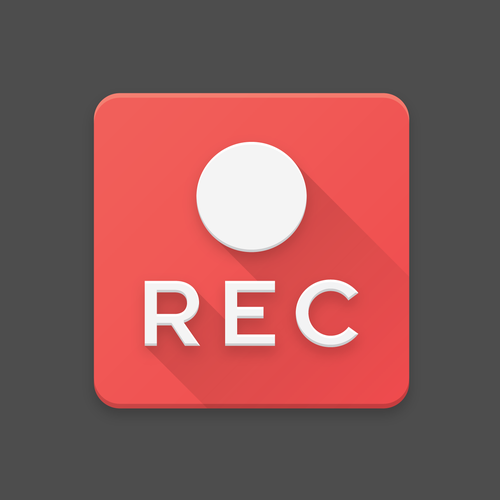 Screen Record App Icon
