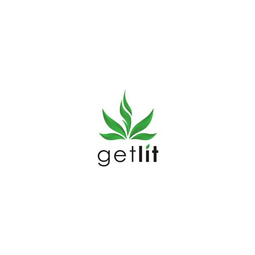 Elegant & fun logo for GETLIT