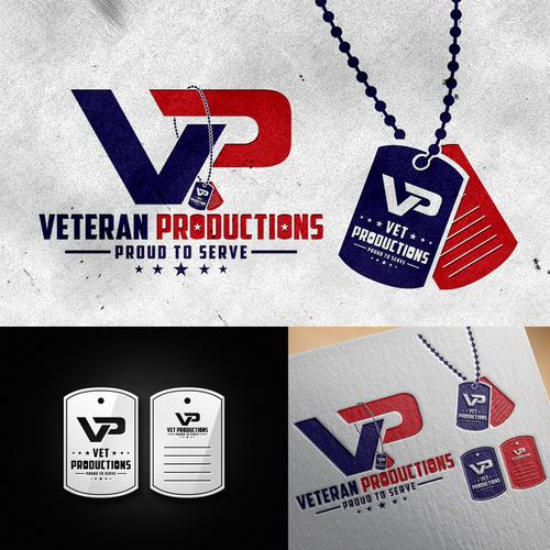 """VP logo"" VETERAN PRODUCTIONS"