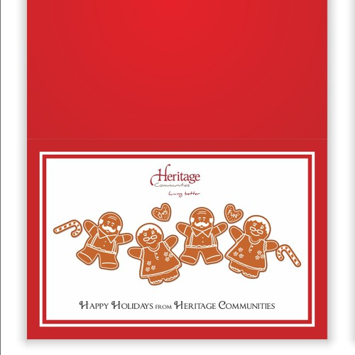 Holiday Card for Retirement Community