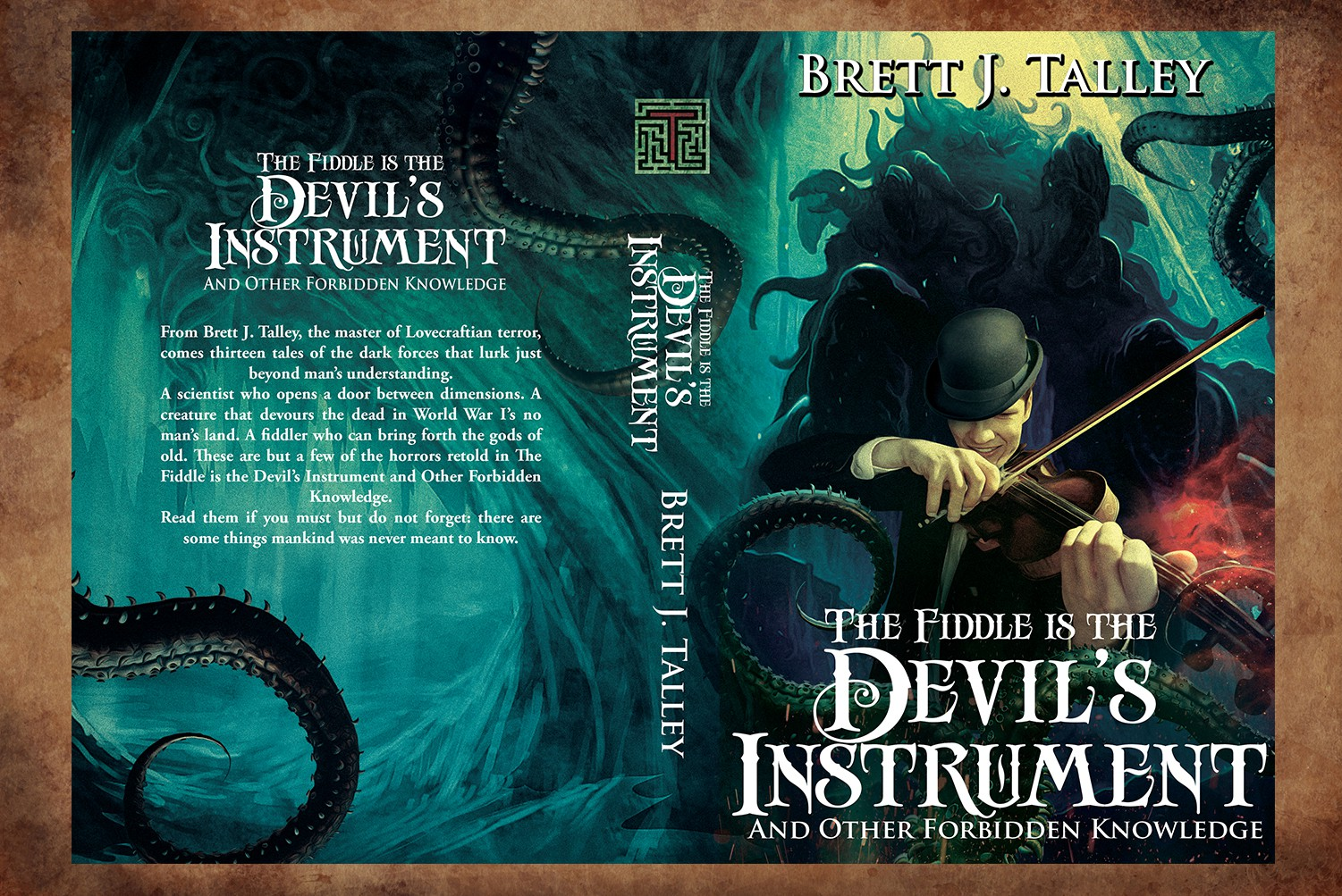 Cthulhu cover for HP Lovecraftian short story collection