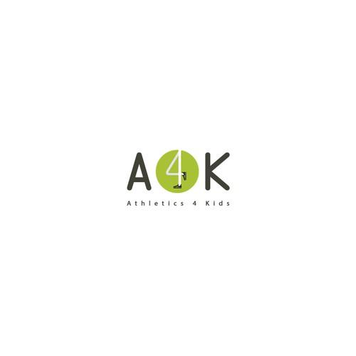 Design a logo for A4K Athletics for Kids
