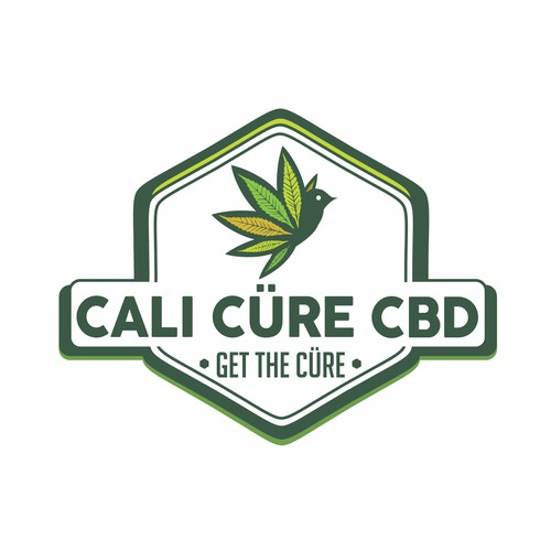 CBD vintage logo & label