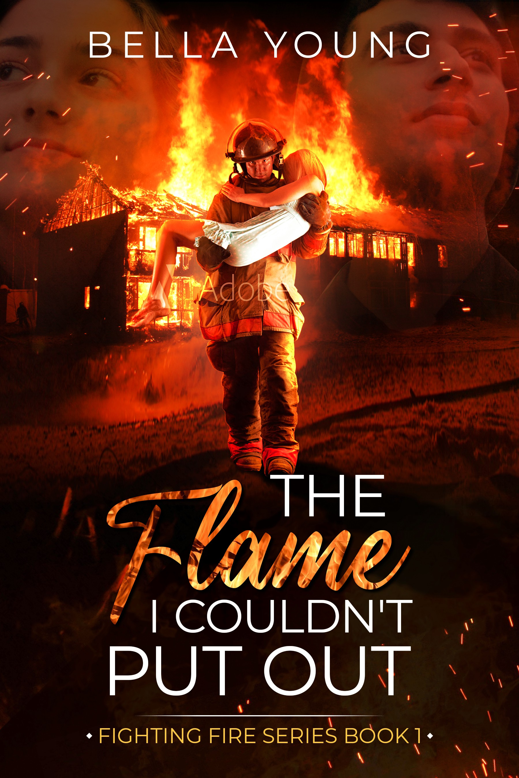 Book Cover: Firefighter Romance/Action Novella