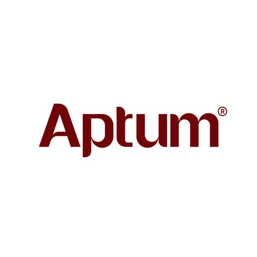 wordmark logo design for APTUM