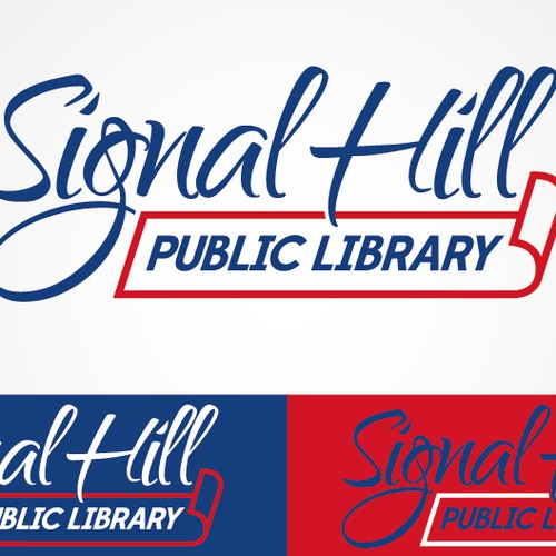 Help Signal Hill Public Library or SHPL with a new logo