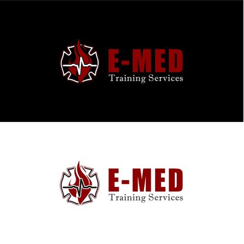 E MED logo