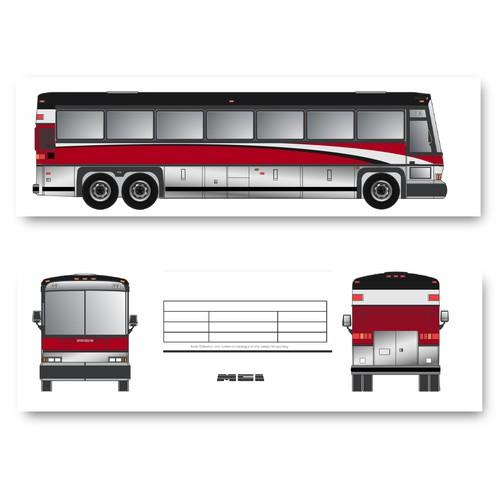 Bus Wrap Design