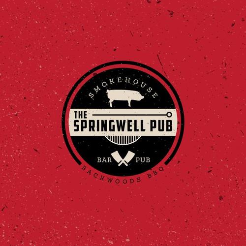 Logo design for Bar and Pub