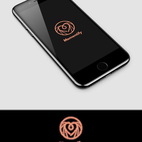 Logo concept for Momentify