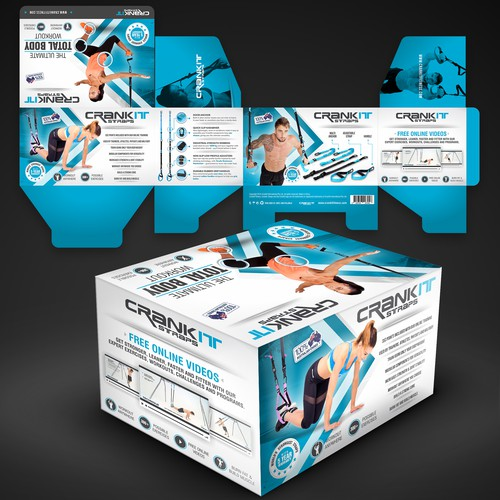 Packaging Design for CrankIt Fitness