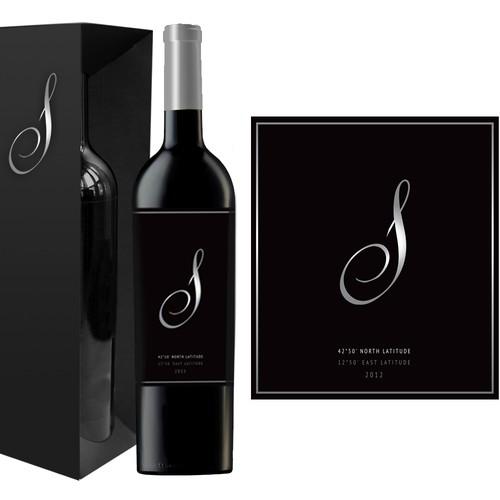 Design High End Wine Label