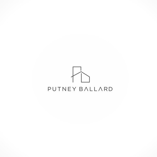 logo for high-end custom renovations and new construction company