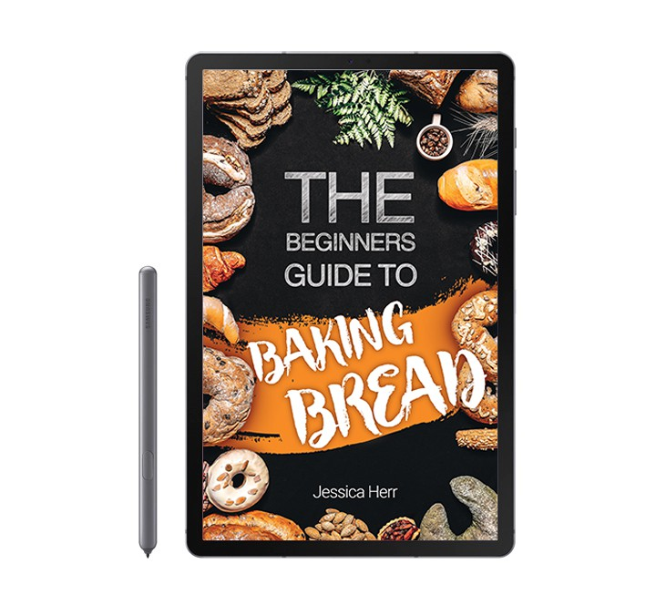 Ebook cover for a bread baking book