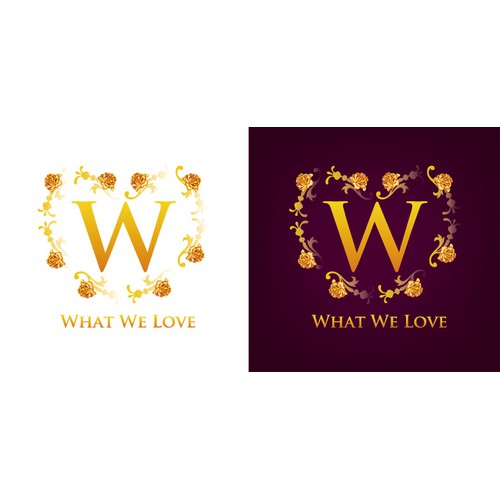 STUNNING WINE LOGO and business cards that will be used as logo for varied products including wine.
