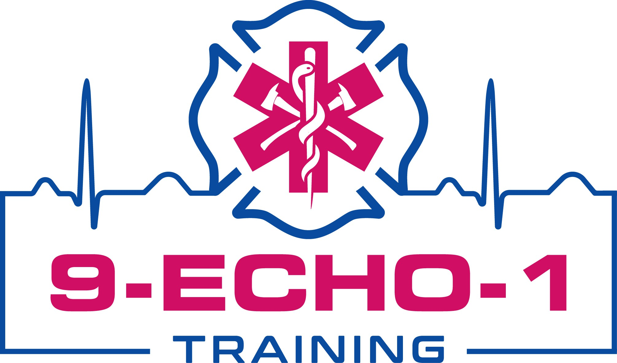 Creative Logo for Emergency Services training.