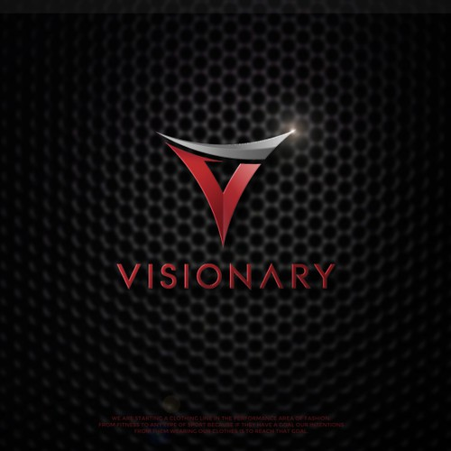 Design a sharp logo for the biggest clothing line since underarmour, Visionary Athletics.