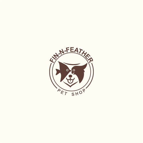 Creative Incorporated Few Pet Animal as a Logo