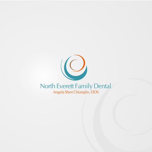 Create a logo for my dental office that will attract residents/ driveby's-something abstract, no teeth designs however