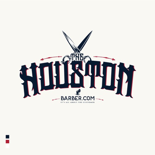 5 star rated logo entry The HoustonBarber.Com