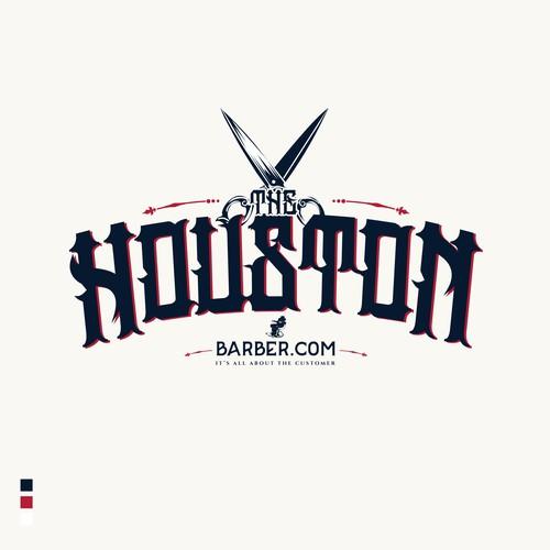 5 star rated logo entry The HoustonBarber.Com