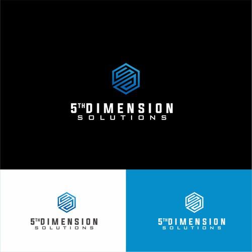 Geomteric logo 5 dimensional