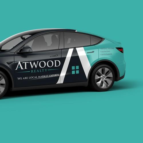 ATWOOD Tesla wrap
