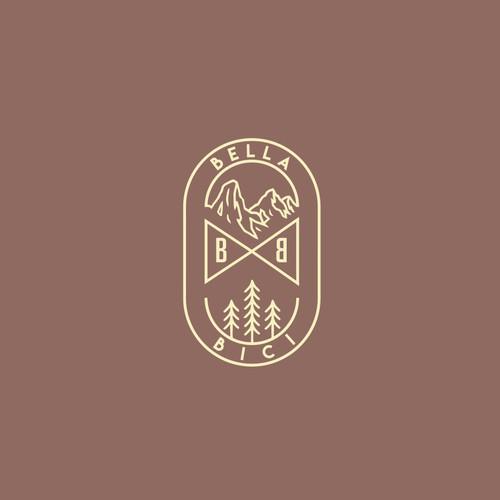 monoline logo for bella bici
