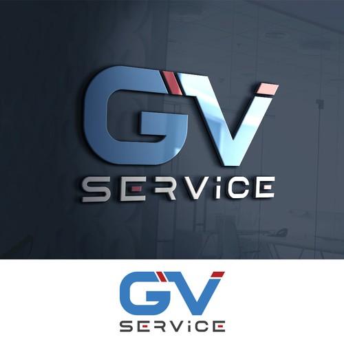 Logo for GV Service