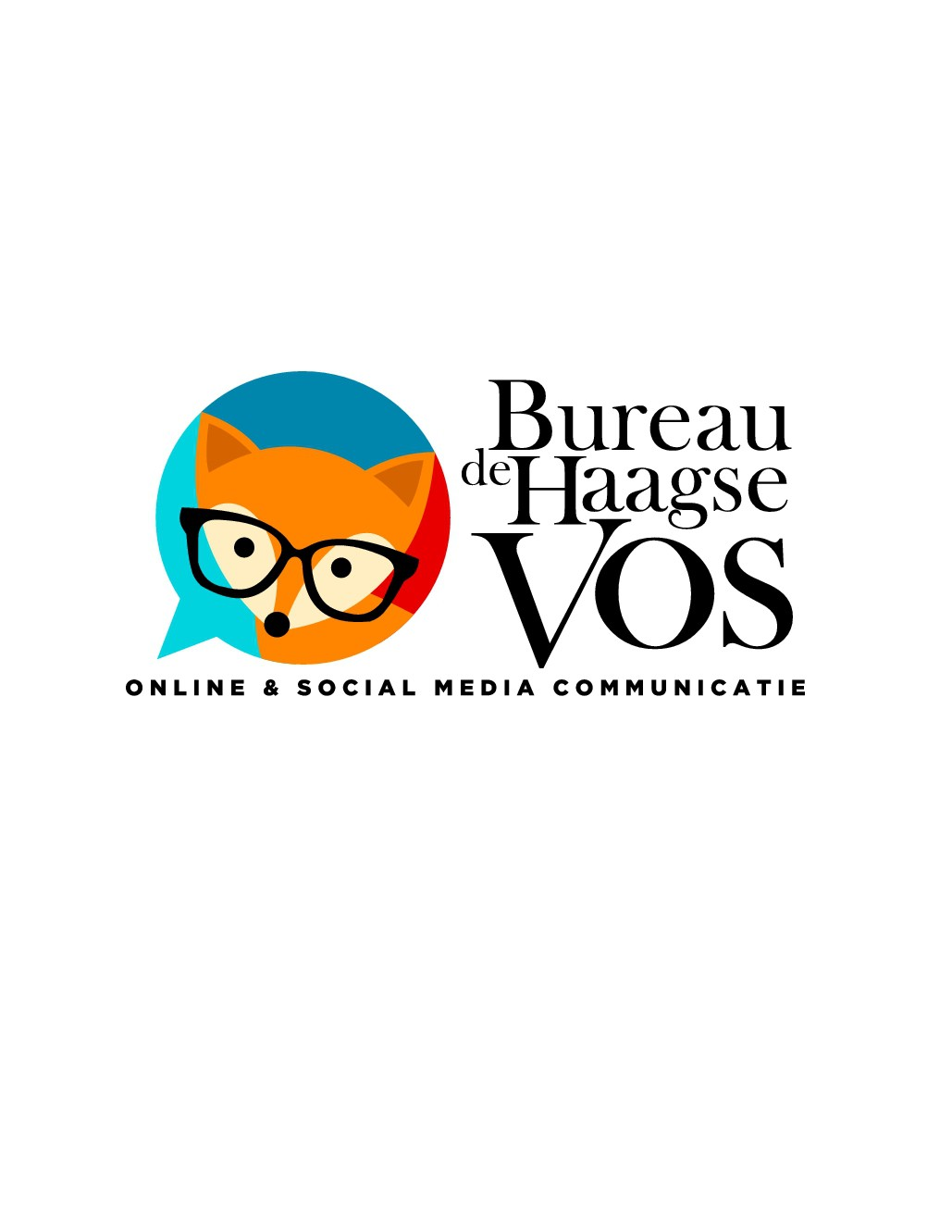 Create a smart and sassy logo for a social media fanatic