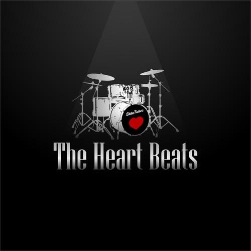 "Logo for ""The Heart Beats"""
