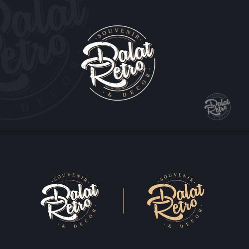 Logo design for Dalat Retro