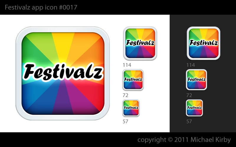 Need a icon & splash screen for Festivals iPhone app