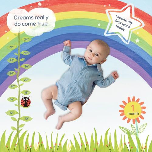 Baby Rainbow Blanket