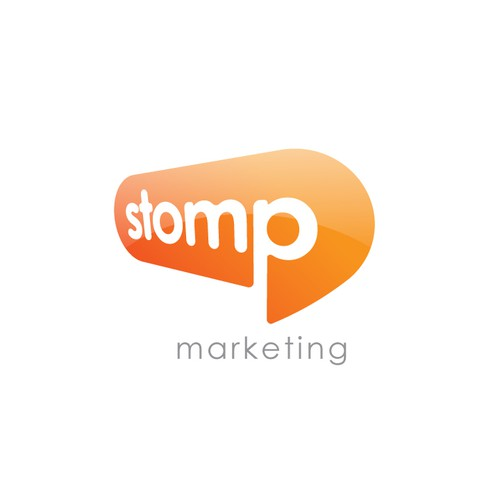 Stomp - Logo for Online Marketing Agency
