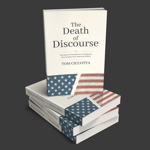 """The Death of Discourse"" book cover"